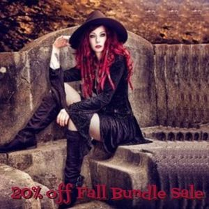 Welcome Fall! 20% off Bundle Sale! Please Share!